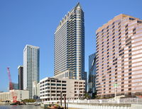 Downtown Tampa at the Gulf of Mexico, Florida