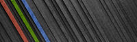 Black and Colorful Diagonal Stripes 3D Pattern Background