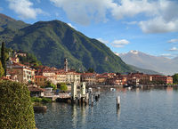 Menaggio at Lake Como,Lombardy,Italy