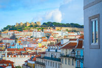 Lisbon Old Town Castle Portugal