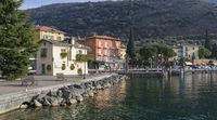 Boardwalk by the Lake Garda