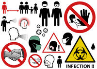 Infectious Threat Icons and Symbols