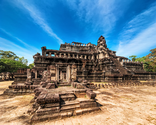 Panorama view of Baphuon temple. Cambodia