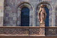 Holy Maria Minster Freiburg im Breisgau
