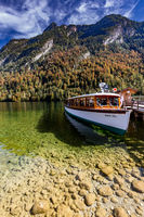 Boat at the Königssee