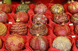 Handicraft christmas baubles for sale