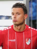 Croatian footballer Petar Sliskovic Türkgücü Munich DFB 3rd league season 2020-21