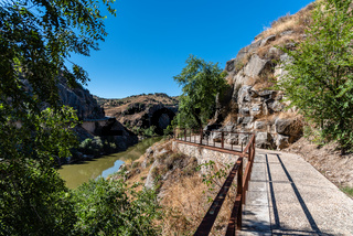 Ecologic Route of River Tajo Around Toledo