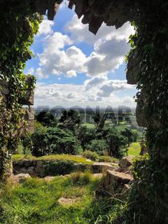 Ancient Ruins at Beeston Castle