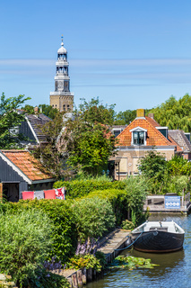 Townscape Hindeloopen Netherlands