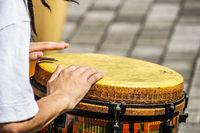 Image of the drum (bongo)