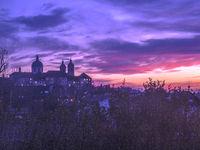 Basilika, Weingarten (Württemberg), sunset