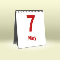 May 7th | 7.Mai