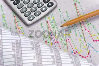 Chart und Aktienkurs