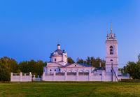 Church in the village of Konstantinovo (homeland of the Russian poet Sergei Yesenin) - Russia