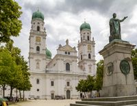 Saint Stephens Cathedral in Passau