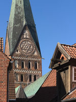 Lüneburg - Tower of St John's Church, Germany