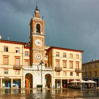 Piazza Tre Martiri in Rimini
