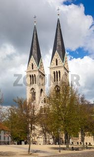 Impressionen aus der Stadt halberstadt Harz