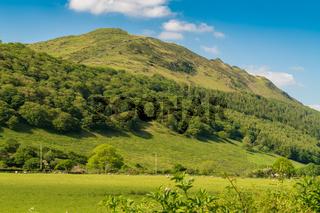 Snowdonia Landscape, Wales, UK