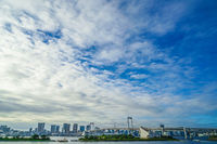 Tokyo skyline as seen from Odaiba