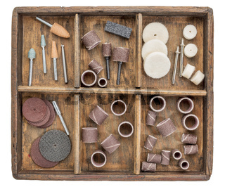 rotary tools in rustic boc