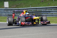 Sebastian Vettel, Red Bull Renault F1