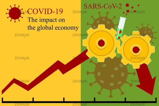 The negative impact COVID-19 pandemic on the global economy