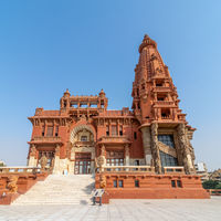 Baron Empain Palace, a historic mansion inspired by the Cambodian Hindu temple of Angkor Wat, Cairo