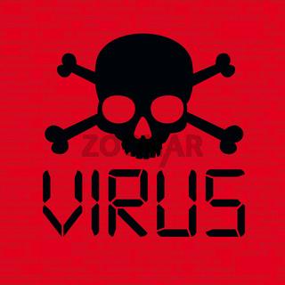 Red Skull Data Virus