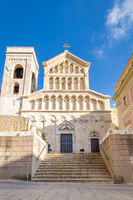 Cagliari Cathedral of Saint Mary in Sardinia Iisland, Italy