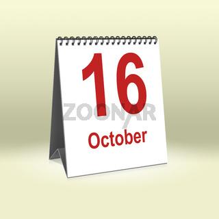 October 16th   16.Oktober