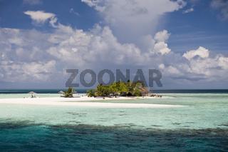 Picknick-Insel Vashugiri, Malediven