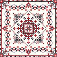 Romanian traditional pattern 93