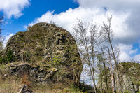 The famous Bruchhauser Stones in the Sauerland in Germany