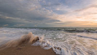 Sunrise at the Atlantic Ocean, Florida, USA