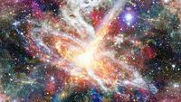 Pulsar in the nebula. Elements of this image furnished by NASA