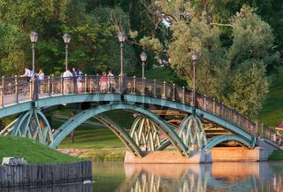 Bridge in Tsaritsyno park