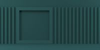 Mock up podium for product presentation square frame 3D