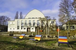 Sport und Ruderhalle am Poststadion, Berlin, Deutschland