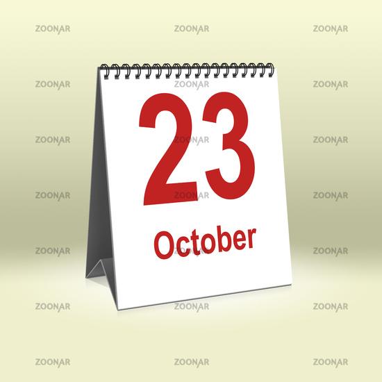 October 23th | 23.Oktober