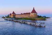 Fortress Oreshek on a small island on the Neva River - Leningrad Region Russia