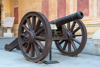 Cannon at Nahargarh Fort in Jaipur, India