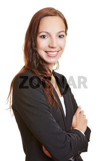 Porträt einer Frau mit verschränkten Armen
