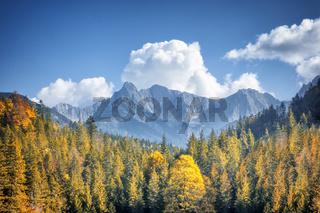 autumn alps