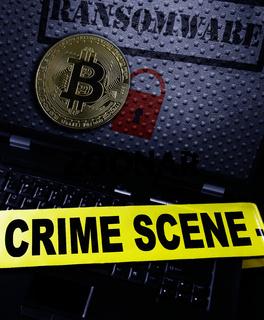 Ransomware bitcoin crime