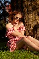 pretty sunny girl