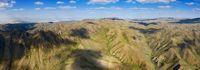 Mountains landscape in Yol Valley