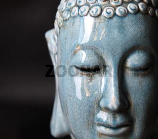 Buddha close up portrait