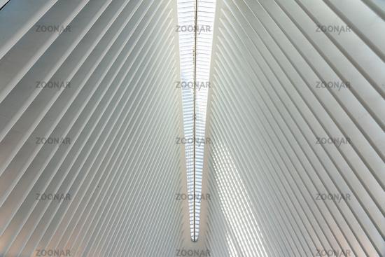 World Trade Center Station in New York City, USA